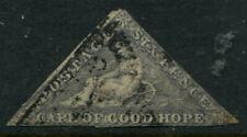 CAPE OF GOOD HOPE - 1863 QV 6d 'SLATE PURPLE' GU SG7d Cv £1000 [A9466]