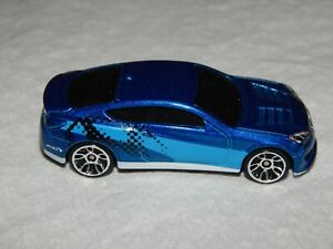 Hot Wheels Hyundai Genesis Coupe - 2011 - Blue - Nice!