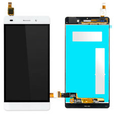 For Huawei P8 Lite 2017 LCD Touch Screen Digitizer Assembly Frame White ALE-L21