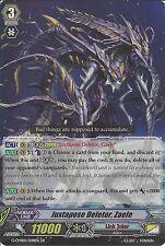 CARDFIGHT VANGUARD CARD: JUXTAPOSE DELETOR, ZAELE G-CMB01/008EN RR RARE
