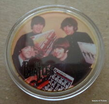 The Beatles 24KT GOLD MEMORABILIA COLLECTIBLE COIN #41se