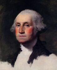 Gilbert Stuart Portrait Painting of George Washington Canvas Fine Art Print New
