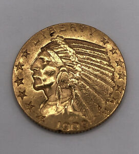 Goldmünze 5 Dollar USA 1909 Indian Head - Gold Indianer Kopf (1908-1916)