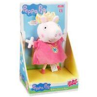 Peppa Pig Habla Princesa Peppa Peluche Juguete Muñeca 20cm