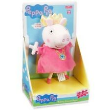 Peppa Pig Talking Princess Peppa Soft Plush Toy Doll 20cm