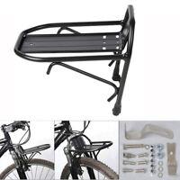 "24"" to 28"" Aluminum Alloy Wheel Bike Front Rack Luggage Shelf Panniers Bracket"