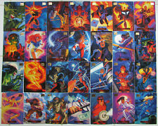Marvel Masterpieces 1994 Hildebrandt single cards, pick more as low as 70 cents!