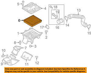 Buick GM OEM 12-13 Regal Engine-Air Filter Element 13319421