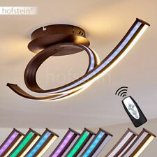 Plafonnier LED Lustre Lampe à suspension Changeur de couleur Lampe de corridor