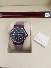 Salvatore Ferragamo Women's F53SBQ68P09 SB52 F-80 Pink Sapphires Leather Watch