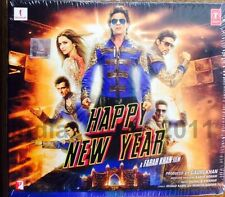 HAPPY NEW YEAR - 2014 Bollywood Movie Audio CD / Shahrukh Khan, Deepika, Abhishe