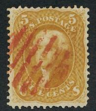 UNITED STATES 67 USED F-VF LIGHT CANCEL WITH PFC