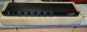CyberPower 12-Outlet (6 Front, 6 Rear) Rackmount PDU w/ 100 – 125 V 20A Output