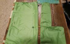 Jimmy Tarps Set 3 Stuff Sacks-Waterproof UL Sil Poly Tea Green  NEW