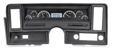1969-76 Chevrolet Nova Black Alloy & White Dakota Digital VHX Analog Gauge Kit