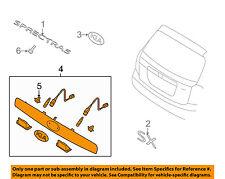 KIA OEM 05-09 Spectra5 Liftgate Tailgate-Finish Molding 925011L100