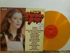 PARADE OF POPS I0   Various   LP  GOLD VINYL    Lovely copy !