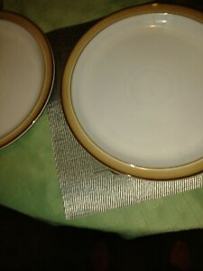2 Denby Dinner Plates thought to be Viceroy.