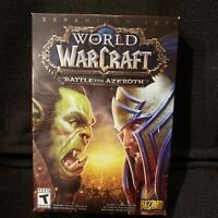 📌 World of Warcraft Battle for Azeroth Expansion (PC,2018)-Brand New And Sealed