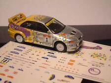 DECAL CALCA 1/43 MITSUBISHI EVO VI Gr. A SOLORALLY.COM M. POU C. CATALUNYA 2003