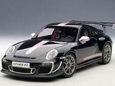 Porsche 911 (997) GT3 RS 4.0 2011 negro coche modelo 1 18 / Autoart