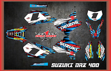 Suzuki DRZ400 DRZ 400  SEMI CUSTOM GRAPHICS KIT TOON2