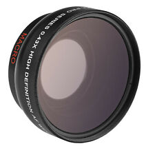Opteka 0.43x Wide Angle Macro Lens for Fuji XC 50-230mm OIS, XF 18-55mm R LM OIS