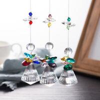 1Pc Crystal Sun Catcher Kronleuchter Kristalle Ball Prisma Anhänger WohnkultBXUI