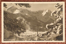 1936 Garmisch Partenkirchen Olympic Games post used postcard with slogan cancel