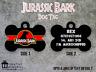 Personalised Pet Tag - ID Tag - Dog Tag - Bone Tag - Jurassic Park Style