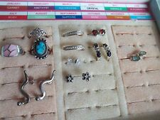 230 g sterling silver 925 jewelry lot, wear,scrap,pre-owned,vintage,fashion,