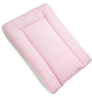 BABY 100% COTTON CHANGING MAT CHILD TODDLER NURSERY FOR UNIT Pink