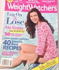 Weight Watchers Magazine Log On & Lose July/August 2010 072317nonrh