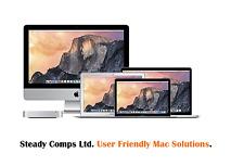 2016 Mac Mini/1.4GHz i5/4GB RAM/256GB Unidad Flash/OS X y Windows 7 o 8.1 Pro
