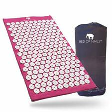 Bed of Nails Original Acupressure Mat for Back/Body Pain Treatment (Purple)