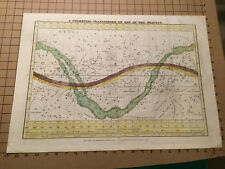 Original -1835- A CELESTIAL PLANISPHERE, or MAP OF THE HEAVENS hand colored