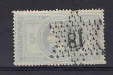 napoleon N°33  5 fr  Violet-Gris + 2 signatures  TB, sans clair TB grey stamp