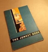 The Junket Book Delicious Digestible Desserts Ice Cream 1935