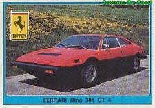 109 FERRARI DINO 308 GT 4 FIGURINE VIGNETTE STICKER SUPER AUTO 77 PANINI