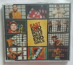 EAST 17 -  NEW & SEALED maxi-CD - WEST END GIRLS (REMIXES - PET SHOP BOYS cover)