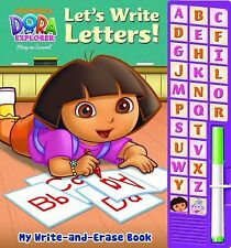 My Write-and-Erase Sound Book: Dora the Explorer Let s Write Letters, Editors of