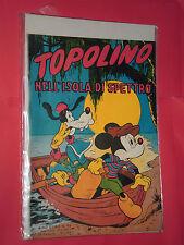 ALBO D'ORO TOPOLINO n°95-DEL 1953-LIRE 50-NELL ISOLA DI SPETTRO-mondadori-disney