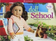 American Girl AG Doll School Design Learning Book Craft Play Kit Activity Arts