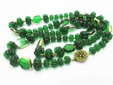 VINTAGE MIRIAM HASKELL GLASS BEAD NECKLACE