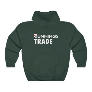 Bunnings Trade Hoodie - Green - Medium
