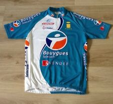 BOUYGUES TELECOM CYCLING SHIRT JERSEY UCI PROTOUR SIZE XXL MADE IN ITALY NALINI