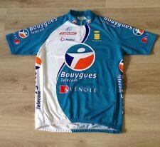 BOUYGUES TELECOM Ciclismo Maglia UCI PROTOUR Taglia XXL Made in Italy NALINI