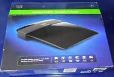 Cisco Router E1200 Linksys Wireless-N 2.4Ghz 4-Port 300Mbps. Open Box. No CD.