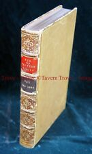 1st Printing 1896 Full Leatherbound Fur & Feather series THE RED DEER Watson