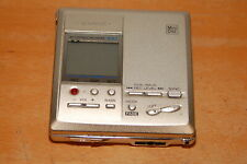 Sharp Md-Mt831-S Portable Minidisc Player Digital Recorder for Parts or Repairs